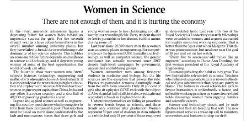 times 22.1.15 Women in Science